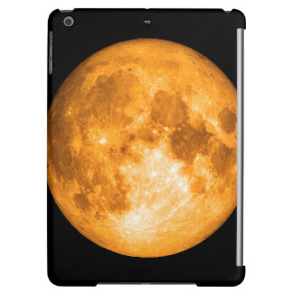 orange full moon iPad air cover