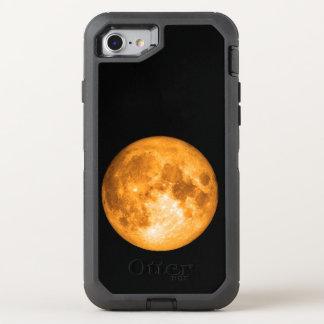 orange full moon OtterBox defender iPhone 8/7 case