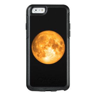orange full moon OtterBox iPhone 6/6s case