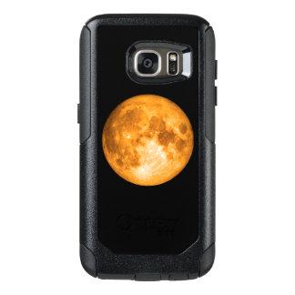 orange full moon OtterBox samsung galaxy s7 case