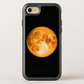 orange full moon OtterBox symmetry iPhone 8/7 case