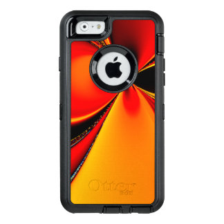 Orange Fury Fractal OtterBox iPhone 6/6s Case