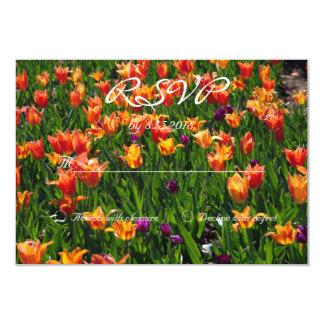 Orange Garden RSVP Card