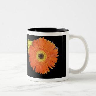 Orange Gerber Daisy Mug