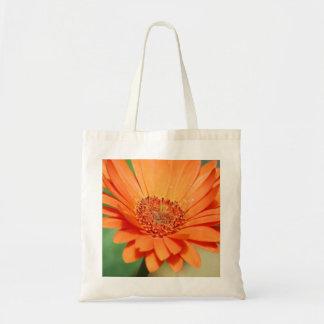 Orange Gerbera Daisy Bag