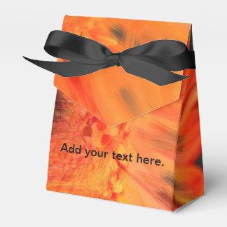 Orange Gerbera Daisy Favor Boxes Wedding Favour Box