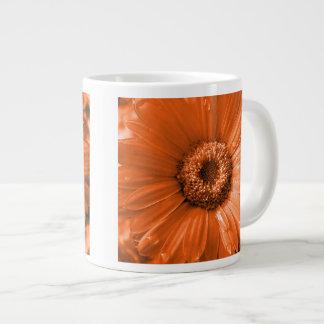 Orange Gerbera Daisy Jumbo Mug