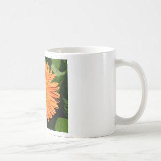 Orange Gerbera Daisy Basic White Mug