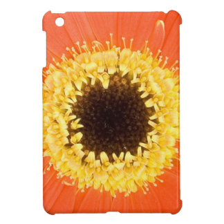 Orange Gerbera Flower iPad Mini Cases