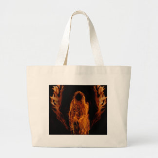 Orange Ghoul Canvas Bags