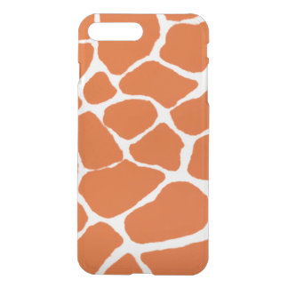Orange Giraffe iPhone 7 Plus Case