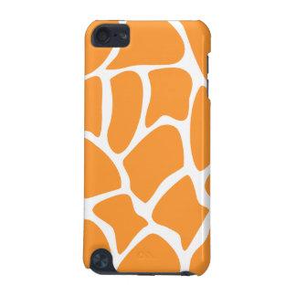 Orange Giraffe Print Pattern iPod Touch 5G Case