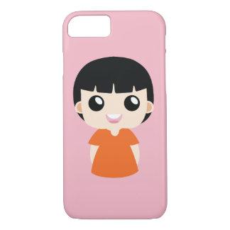 Orange girl iPhone 8/7 case