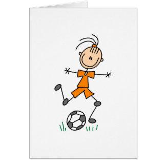 Orange Girls Soccer Card