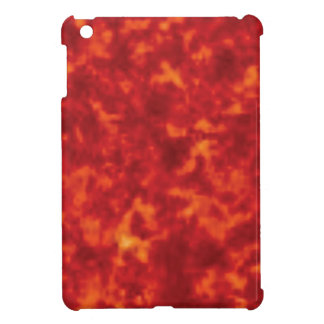 orange glow of lava iPad mini covers