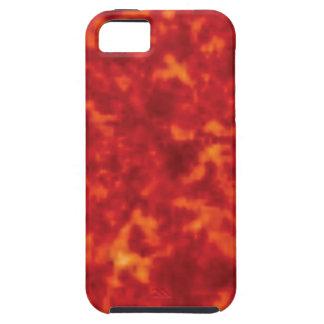 orange glow of lava iPhone 5 case
