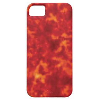 orange glow of lava iPhone 5 covers