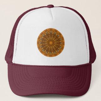 "Orange, Gold, & Brown ""Seasons: Autumn"" Mandala Trucker Hat"