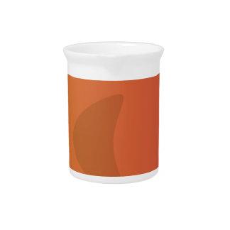 Orange Goldfish Cartoon Pitcher