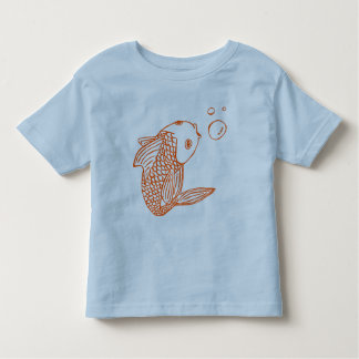 Orange Goldfish Toddler T-Shirt