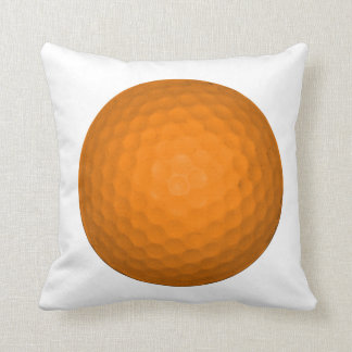 Orange Golf Ball Cushion