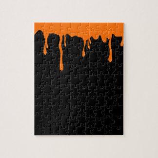Orange Goo Jigsaw Puzzle