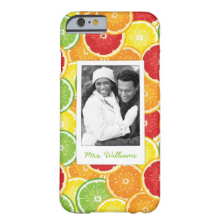 Orange, Grapefruit, Lime & Lemon | Add Your Photo Barely There iPhone 6 Case