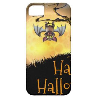 Orange Halloween Vampire Bat Background Case For The iPhone 5