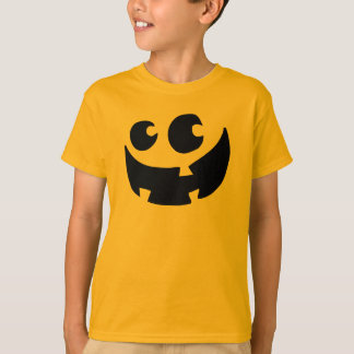 Orange Happy Halloween Pumpkin T-Shirt
