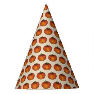 Orange Harvest Pumpkin Halloween Thanksgiving Fall Party Hat