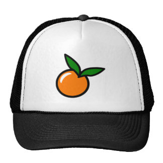 Orange Mesh Hat