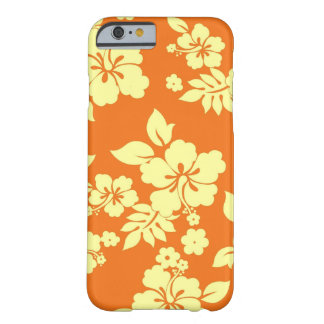 Orange Hawaiian Barely There iPhone 6 Case