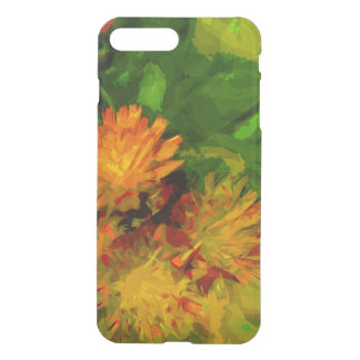 Orange Hawkweed Wildflower Abstract Impressionism iPhone 8 Plus/7 Plus Case