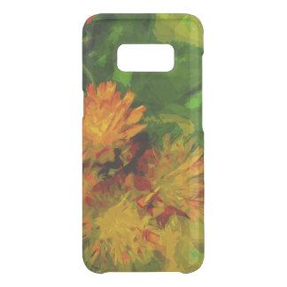 Orange Hawkweed Wildflower Abstract Impressionism Uncommon Samsung Galaxy S8 Case