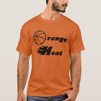 Orange Heat Longsleeve Tee