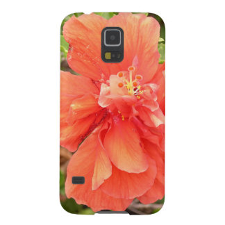 Orange Hibiscus Samsung Galaxy Nexus Case
