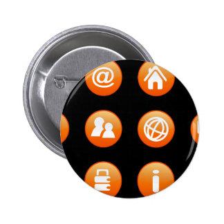 Orange Hot Keys Pins
