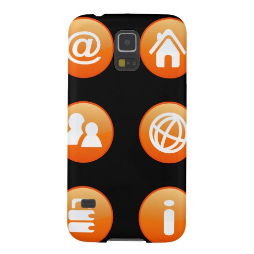 Orange Hot Keys Samsung Galaxy Nexus Covers