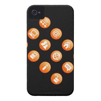 Orange Hot Keys Case-Mate iPhone 4 Case