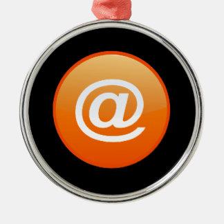 Orange Hot Keys Ornament