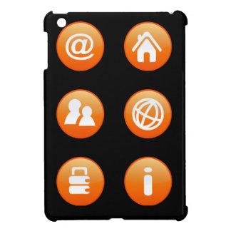 Orange Hot Keys iPad Mini Cover