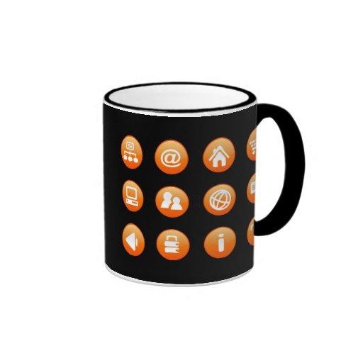 Orange Hot Keys Mug