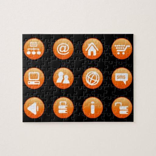 Orange Hot Keys Puzzles