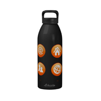 Orange Hot Keys Drinking Bottles