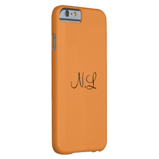 Orange hull N.L Barely There iPhone 6 Case