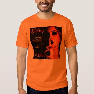 "Orange ""Hush"" album cover T-shirt"
