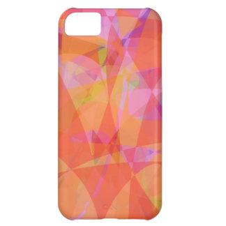 Orange Ice Cream iPhone 5C Case