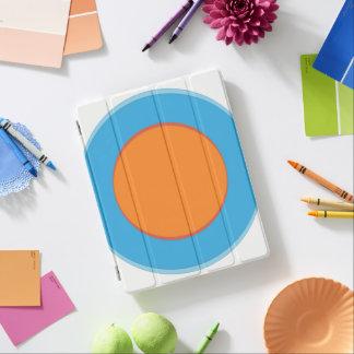 Orange In Blue Dots iPad Smart Cover