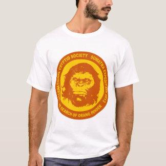 Orange IN SEARCH OF ORANG PENDEK - Sumatra Bigfoot T-Shirt