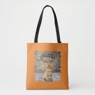 Orange Is The New Cat Bag